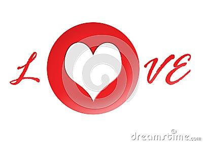 A4 Horizontal Red Love Photofr