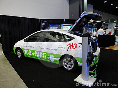 AAA Plug-in Prius automobile Editorial Image