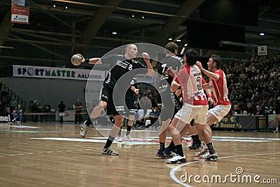 AaB Handball - Aarhus GF (29-23) Editorial Image