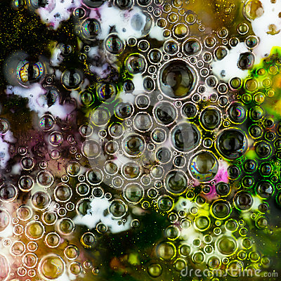 Aabstract  background with bubbles
