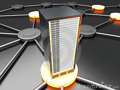 Aangesloten Server