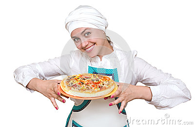 Aantrekkelijke kok