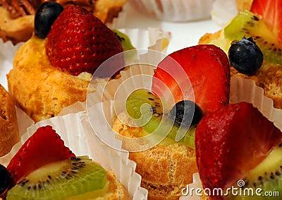 Aardbei, het Dessert van de Kiwi