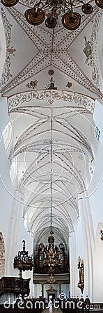 Aarhus church interior