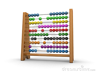 Abacus 3d Royalty Free Stock Image - Image: 10203716