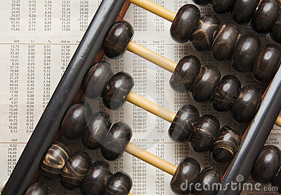 Abacus and figures