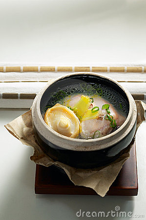 Abalone  in urns