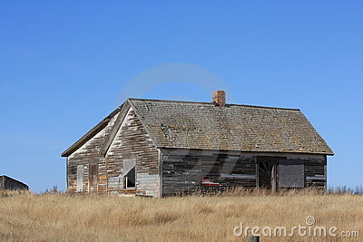 Abandon farm house