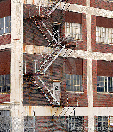 Abandoned american factory