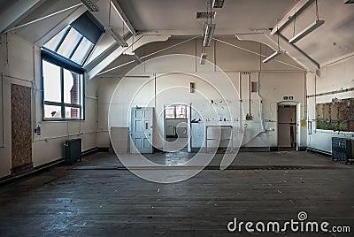 Abandoned Art Studio