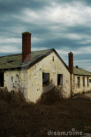 Abandoned barracks