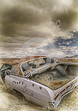 Free Abandoned Car Stock Photos - 44158703