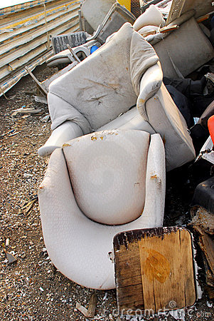 Abandoned chairs