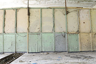 Abandoned chemical lab. Editorial Image