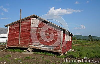 Abandoned Chicken Coop