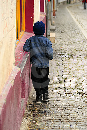 Free Abandoned Child Stock Photography - 1781092