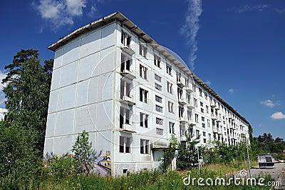 Abandoned city, Czech Republic