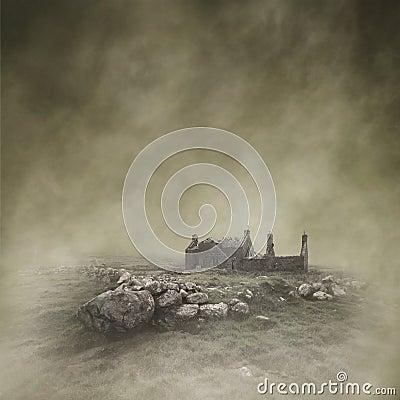 Free Abandoned Croft Stock Image - 88705821