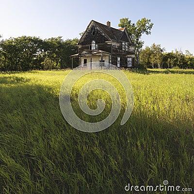 Free Abandoned Farm House. Royalty Free Stock Image - 4245606