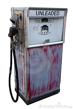 Free Abandoned Gas Pump Stock Image - 755111