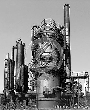 Abandoned Gasworks