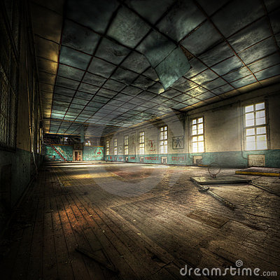 Free Abandoned Gym Royalty Free Stock Photo - 19840955