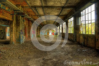 Abandoned hall, more pictures available