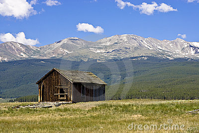 Abandoned Home at Base of Mt. Massive