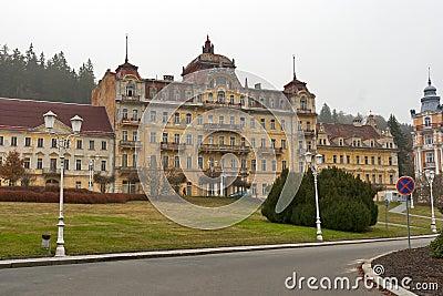 Abandoned hotel in Marianske Lazne (Marienbad Spa)