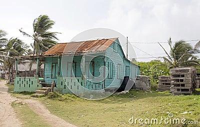 Abandoned house Corn Island Nicaragua