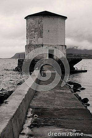 Free Abandoned Lighthouse Royalty Free Stock Photography - 962347