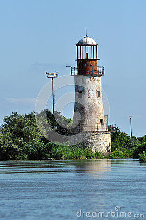 Free Abandoned Lighthouse Of Sulina, Danube Delta Royalty Free Stock Photos - 54071978