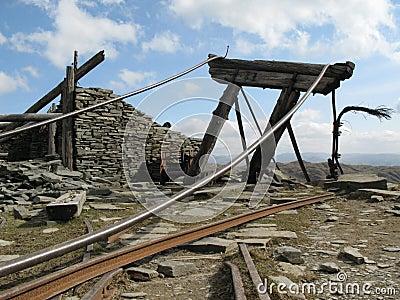 Abandoned mine works