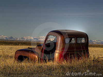 An Abandoned Old Pickup