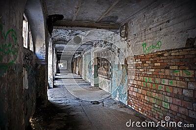 Abandoned passage