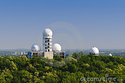 Abandoned radar station berlin