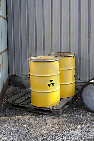 Abandoned radioactive waste