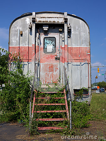 Free Abandoned Rail Car Stock Images - 26165054