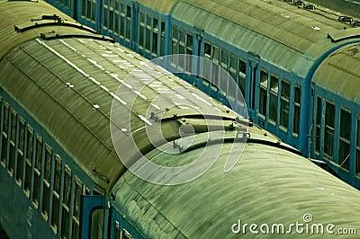 Abandoned Rail Cars