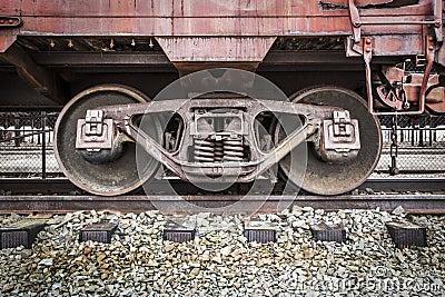 Abandoned Rail Yard - Details