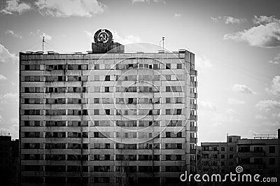 Abandoned residental architecture