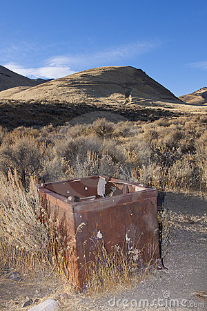 Abandoned Safe in the Desert