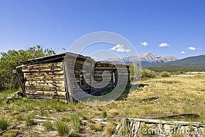 Abandoned Shelter at Base of Mt. Massive