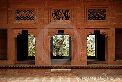 Abandoned temple doorway in Fatehpur Sikri, India