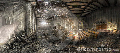 Abandoned theater II