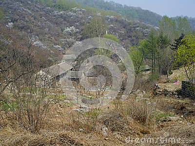 A abandoned village