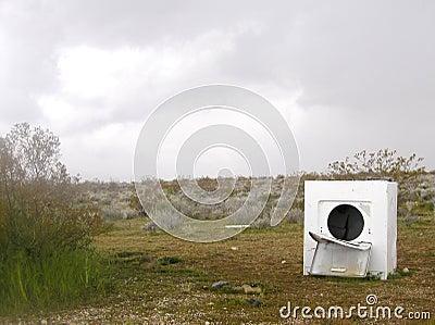 Abandoned Washer