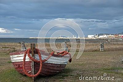 Abandonned fishing boat