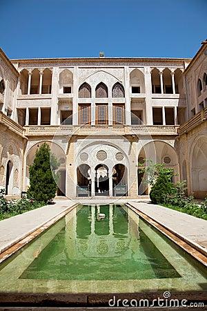 Abbasian historic  house, Kashan, Iran