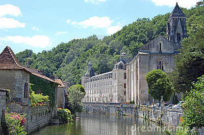The Abbey of Brantome, Dordogne